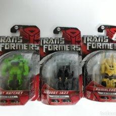 Figuras y Muñecos Transformers: LOTE DE 3 TRANSFORMER NUEVOS EN BLISTER. LIQUIDACIÓN !!!. Lote 139760240