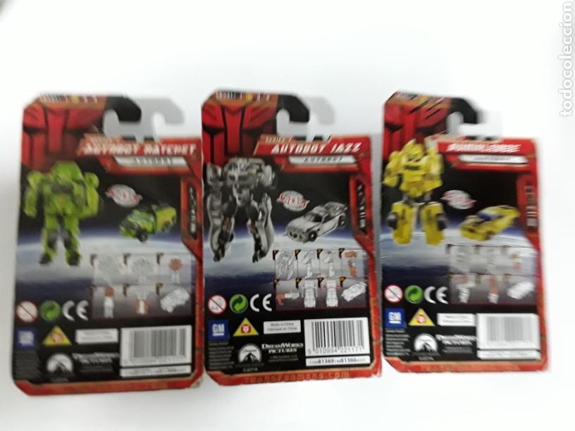 Figuras y Muñecos Transformers: Lote de 3 transformer nuevos en blister. LIQUIDACIÓN !!! - Foto 3 - 139760240