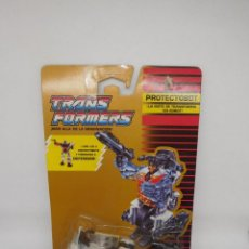 Figuras y Muñecos Transformers: TRANSFORMERS PROTECTOBOT AUTOBOT STREETWISE GROOVE MOTO POLICIA. ORIGINAL AÑOS 90.. Lote 140809024