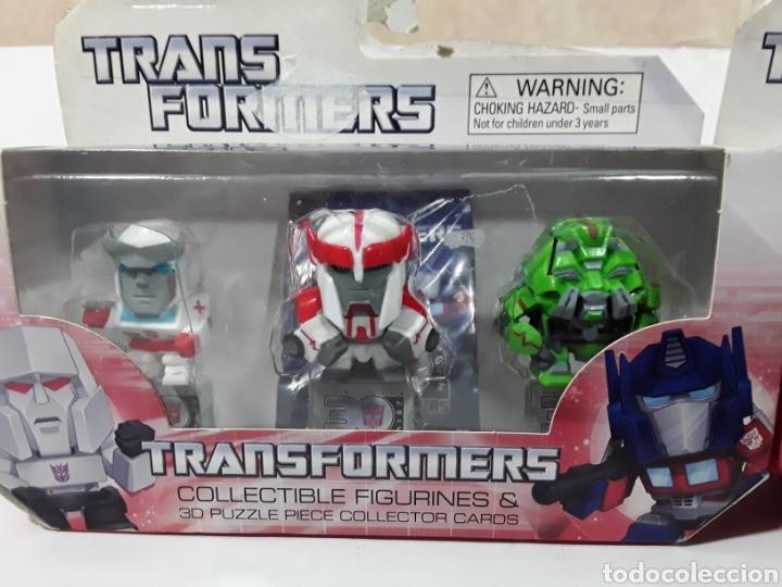 Figuras y Muñecos Transformers: Lote 6 muñecos figuras de transformers Nuevos en su caja original. - Foto 3 - 141932552
