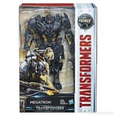 Figuras y Muñecos Transformers: TRANSFORMERS THE LAST KNIGHT: MEGATRON [VOYAGER] - PREMIER EDITION (2017) - NUEVO A ESTRENAR. Lote 143808038