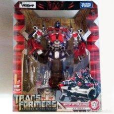 Figuras y Muñecos Transformers: TRANSFORMERS ROTF: BUSTER OPTIMUS PRIME (VERSION KO) 2009, LEADER CLASS, HASBRO, ELECTRONICO. Lote 143809018
