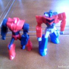 Figuras y Muñecos Transformers: LOTE DE DOS TRANSFORMERS AÑO 2015 DE HASBRO EDICION PARA MCDONALDS. Lote 144538454
