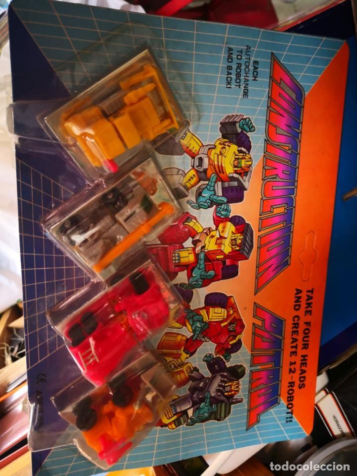 BLISTER TIPO TRANSFORMERS MICROMASTER CONSTRUCTION PATROL COLECCIONABLES AÑO 1990 A ESTRENAR (Juguetes - Figuras de Acción - Transformers)