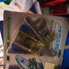 Figuras y Muñecos Transformers: ANTIGUO BLISTER - MICRO TRANSPORTS - AUTOCHANGE - BASE - TRANSFORMERS AÑOS 80/90. Lote 202450088