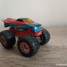 Figuras y Muñecos Transformers: COCHE HOT WHEELS SUPERMAN MONSTER JAM HOTWHEELS. Lote 145471974