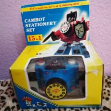 Figuras y Muñecos Transformers: TRANSFORMERS CAMBOT STATIONERY SET. Lote 146529650