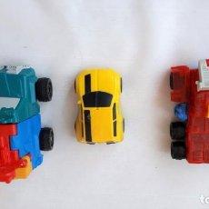 Figuras y Muñecos Transformers: LOTE DE 3 VEHICULOS TRANSFORMERS. Lote 147064458