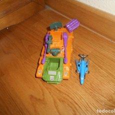 Figuras y Muñecos Transformers: LOTE TRANSFORMERS GEN 1 G1 MICROMASTER ANTI AIRCRAFT BASE COMPLETA RARA. Lote 148039650