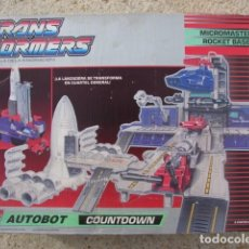 Figuras y Muñecos Transformers: ROBOT TRANSFORMER AUTOBOT COUNTDOWN - TRANSFORMERS MICROMASTER ROKET BASE - HASBRO. Lote 152666816