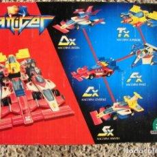 Figuras y Muñecos Transformers: TRANSFORMER GATTIGER SX MACCHINA CENTRALE - GIOCHI PREZIOSI. Lote 148832078