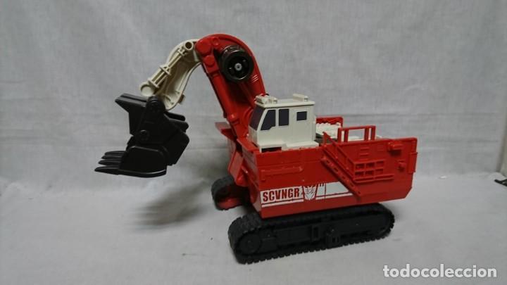 TRANSFORMERS SCVNGR EXCAVADORA (Juguetes - Figuras de Acción - Transformers)