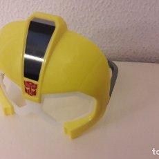 Figuras y Muñecos Transformers: MCDONALDS. CARETA AMARILLA BUMBLEBEE GLOW IN THE DARK MASK. TRANSFORMERS. 2015. HAPPY MEAL. Lote 83702976