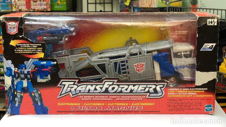 TRANSFORMERS ULTRA MAGNUS ELECTRONICO- HASBRO 2001 (Juguetes - Figuras de Acción - Transformers)