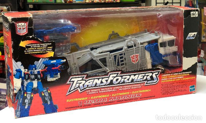 Figuras y Muñecos Transformers: Transformers Ultra Magnus Electronico- Hasbro 2001 - Foto 2 - 150488854