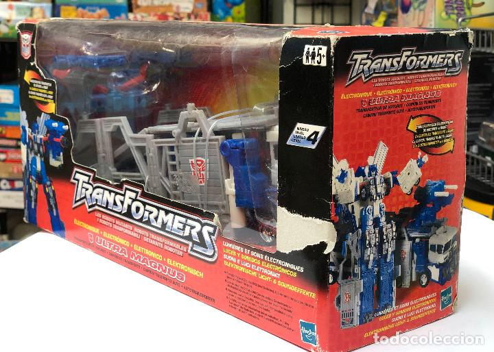 Figuras y Muñecos Transformers: Transformers Ultra Magnus Electronico- Hasbro 2001 - Foto 4 - 150488854