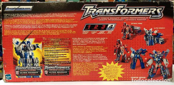Figuras y Muñecos Transformers: Transformers Ultra Magnus Electronico- Hasbro 2001 - Foto 5 - 150488854