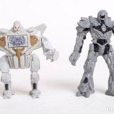 Figuras y Muñecos Transformers: 2 FIGURAS DE TRANSFORMERS DE HASBRO PARA BURGER KING. 2007. Lote 151415258