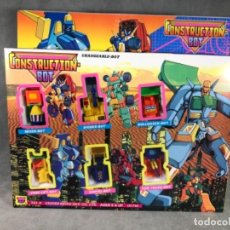 Figuras y Muñecos Transformers: ANTIGUO BLISTER TRANSFORMERS- CONSTRUCTION BOT - AÑOS 80. Lote 153957654