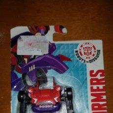 Figuras y Muñecos Transformers: FIGURA ROBOT TRANSFORMERS CLAMPDOWN NUEVO EN BLISTER PRECINTADO MUÑECO COLECCIÓN HASBRO. Lote 154526288