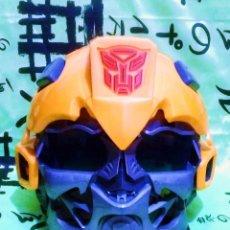 Figure e Bambolotti Transformers: CASCO *TRANSFORMERS BUMBLEBEE* DE HASBRO - AÑO 2014 - CON SONIDOS.. Lote 189560650