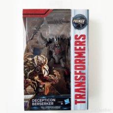 Figuras y Muñecos Transformers: TRANSFORMERS THE LAST KNIGHT: BERSEKER - PREMIER EDITION (2017) NUEVO A ESTRENAR. Lote 143806405