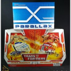 Figuras y Muñecos Transformers: TRANSFORMERS FANSPROJECT TFX-01 CITY COMMANDER + ULTRA MAGNUS OPTIMUS PRIME PACK. Lote 163009822