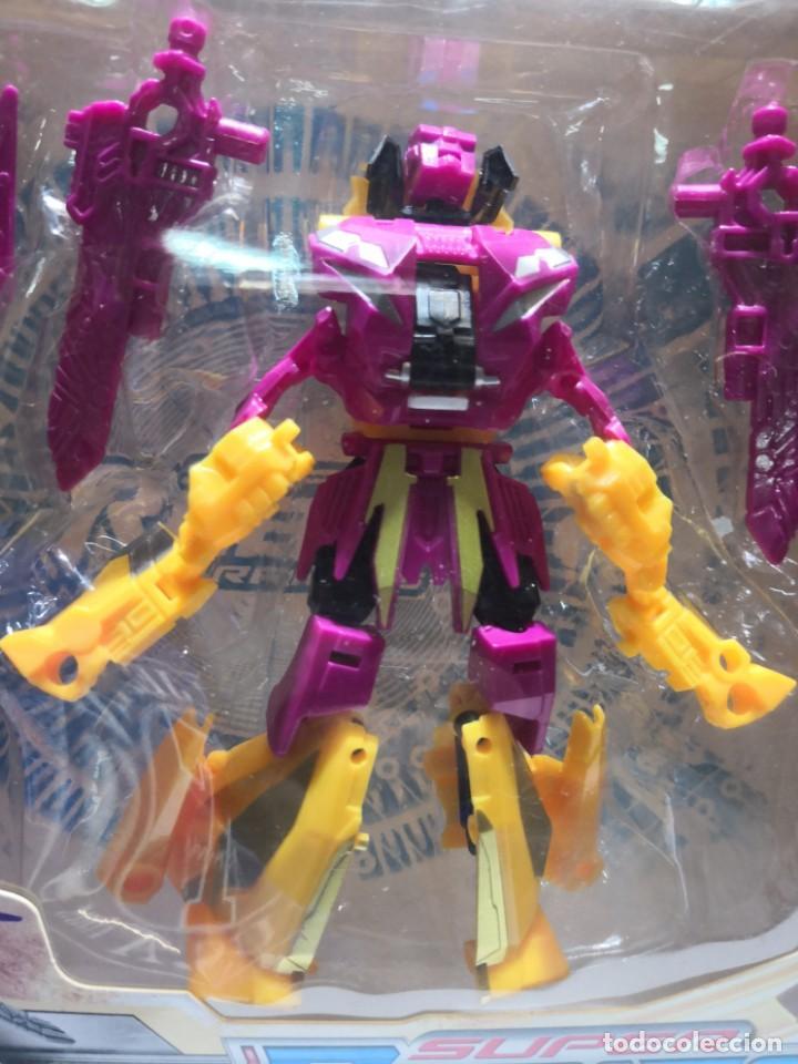 Figuras y Muñecos Transformers: Caja SUPer robots warriors tipo TRANSFORMERS,, Vortex. Ultimate collectors edition - Foto 2 - 163411642