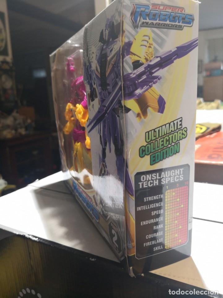 Figuras y Muñecos Transformers: Caja SUPer robots warriors tipo TRANSFORMERS,, Vortex. Ultimate collectors edition - Foto 4 - 163411642