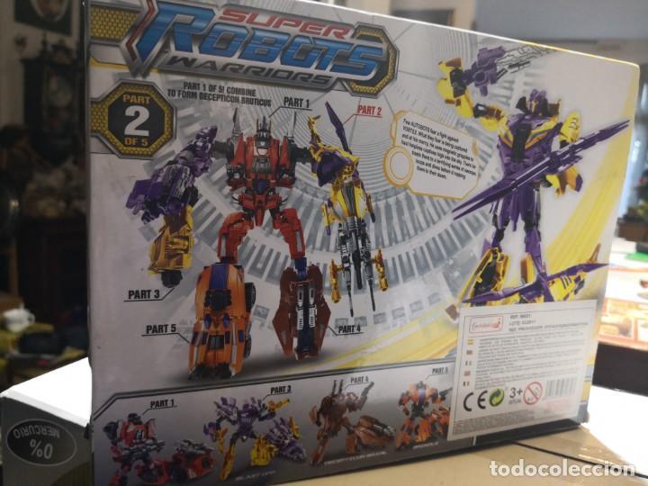 Figuras y Muñecos Transformers: Caja SUPer robots warriors tipo TRANSFORMERS,, Vortex. Ultimate collectors edition - Foto 5 - 163411642