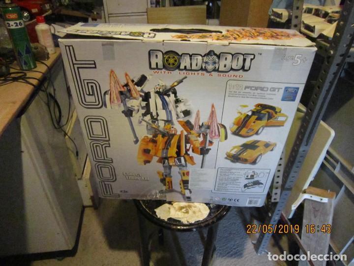 Figuras y Muñecos Transformers: COCHE TRANSFORMABLE EN ROBOT Y VICEVERSA ESCALA 1:12 CON CAJA ORIGINAL. - Foto 7 - 165351126
