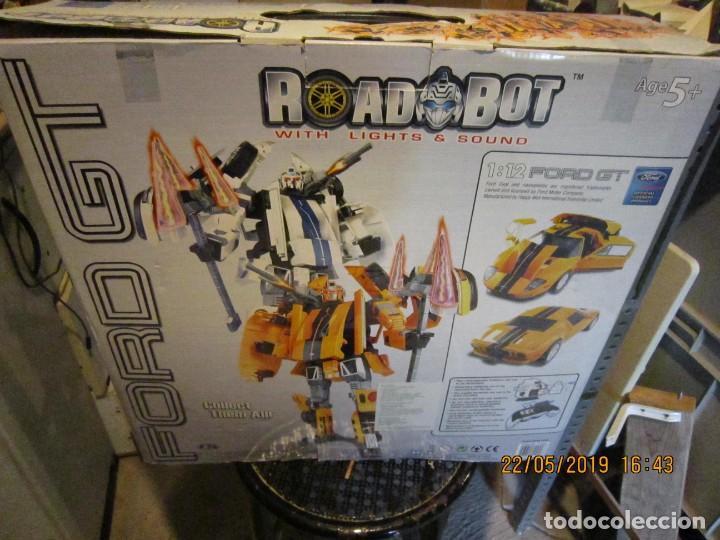 Figuras y Muñecos Transformers: COCHE TRANSFORMABLE EN ROBOT Y VICEVERSA ESCALA 1:12 CON CAJA ORIGINAL. - Foto 8 - 165351126