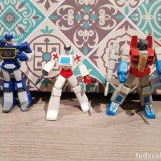 Figuras y Muñecos Transformers: LOTE TRANSFORMERS PVC HEROES DE CYBERTRON SOUNDWAVE STARSCREAM RACHET HASBRO. Lote 165626798