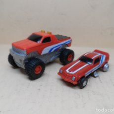 Figuras y Muñecos Transformers: LOTE FIGURAS AUTOTECH (ESTILO TRANSFORMERS) 1999 FAMOSA. Lote 166098086