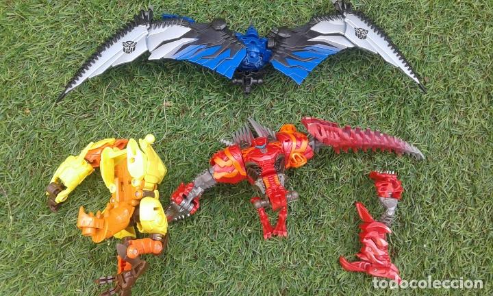 Figuras y Muñecos Transformers: Lote Transformers y Dinobots - Foto 9 - 167112432