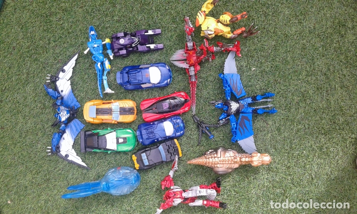 LOTE TRANSFORMERS Y DINOBOTS (Juguetes - Figuras de Acción - Transformers)