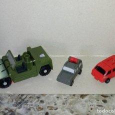 Figuras y Muñecos Transformers: TRANSFORMERS HASBRO TAKARA G1 - CUATRO COCHES ROBOTS MICROMASTERS OFF-ROAD PATROL. Lote 168536372