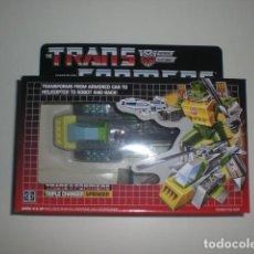 Figuras y Muñecos Transformers: TRANSFORMERS TRIPLE CHANGER SPRINGER.REEDICION(KO). NUEVO. . Lote 169121184
