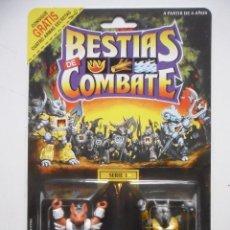 Figuras y Muñecos Transformers: BESTIAS DE COMBATE BATTLE BEASTS SLY FOX & ROCKY RHINO TAKARA HASBRO 1986. Lote 169736472