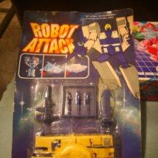 Figuras y Muñecos Transformers: BLISTER TRANSFORMERS ROBOT ATTACK NUEVO. CONVERTIBLE EN ROBOT, NAVE Y TANQUE. Lote 170351428