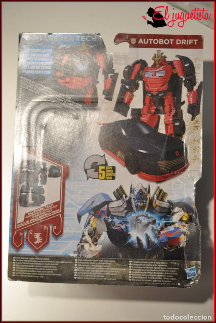 Figuras y Muñecos Transformers: AES1 - TRANSFORMERS HASBRO - AUTOBOT DRIFT ALLSPARK TECH - Foto 5 - 170492105