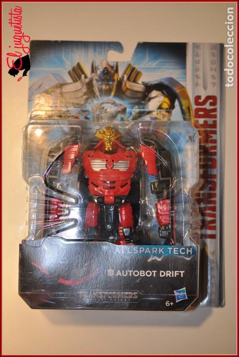 AES1 - TRANSFORMERS HASBRO - AUTOBOT DRIFT ALLSPARK TECH (Juguetes - Figuras de Acción - Transformers)