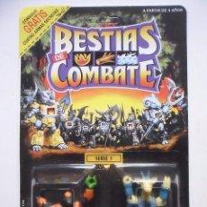 Figuras y Muñecos Transformers: BESTIAS DE COMBATE BATTLE BEASTS HARDTOP TORTIOSE & RUBBERNECK GIRAFFE TAKARA HASBRO 1986. Lote 171696043
