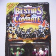 Figuras y Muñecos Transformers: BESTIAS DE COMBATE BATTLE BEASTS TRIPLE THREAT SNAKE & KILLER CARP TAKARA HASBRO 1986. Lote 172189237