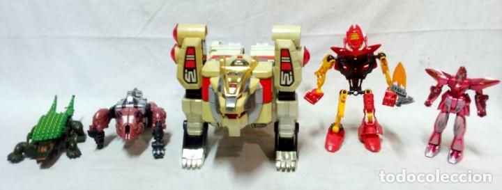 LOTE 5 TRANSFORMERS. EL MAYOR MIDE 28CM DE ALTO. VER DESCRIPCIÓN. (Juguetes - Figuras de Acción - Transformers)