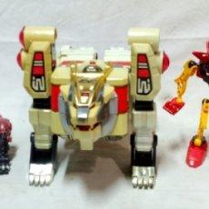 Figuras y Muñecos Transformers: LOTE 5 TRANSFORMERS. EL MAYOR MIDE 28CM DE ALTO. VER DESCRIPCIÓN.. Lote 172617968