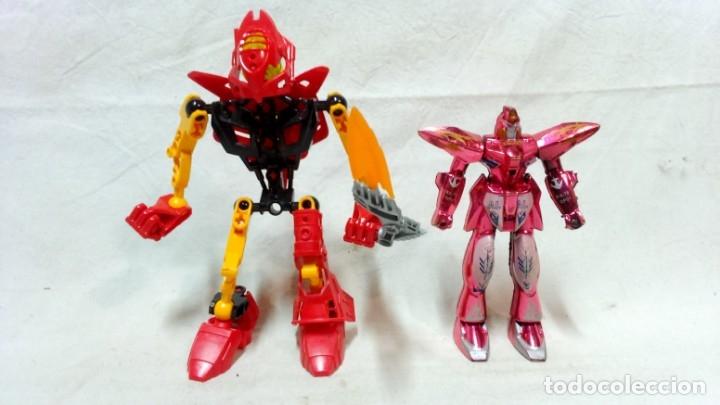 Figuras y Muñecos Transformers: LOTE 5 TRANSFORMERS. EL MAYOR MIDE 28cm DE ALTO. VER DESCRIPCIÓN. - Foto 2 - 172617968