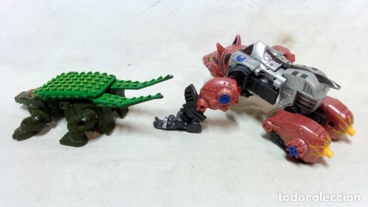 Figuras y Muñecos Transformers: LOTE 5 TRANSFORMERS. EL MAYOR MIDE 28cm DE ALTO. VER DESCRIPCIÓN. - Foto 7 - 172617968
