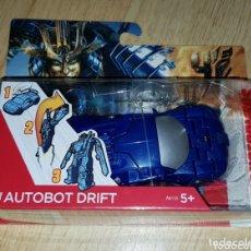 Figuras y Muñecos Transformers: TRANSFORMERS COCHE AUTOBOT DRIFT NUEVO EN BLISTER PRECINTADO DESCATALOGADO HASBRO. Lote 172969814