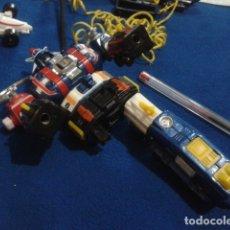 Figuras y Muñecos Transformers: FIGURA TRANFORMERS INCOMPLETA PIEZAS ( VOLTRON DAIRUGGER ) 1982 BANDAI VER FOTOS. Lote 174416742